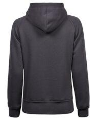 5431 Woman Hooded dark grey back